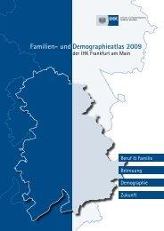 Familien- und Demographieatlas 2009 der IHK Frankfurt am Main