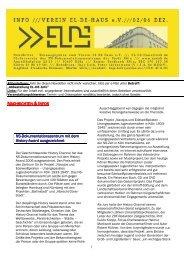 EL-DE-Info 02-2006 zum Download. - Museen in Köln
