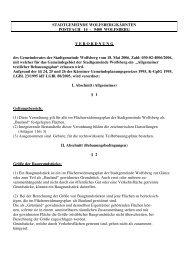 STADTGEMEINDE WOLFSBERG/KÄRNTEN ... - Stadt Wolfsberg