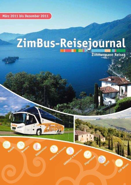 ZimBus-Reisejournal - Zimmermann Reisen