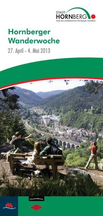 Wanderwoche 2013 - Hornberg