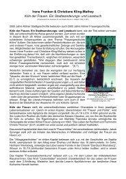 Irene Franken & Christiane Kling-Mathey Köln der Frauen. Ein ...