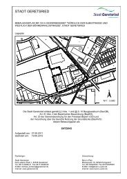 "Bebauungsplan Nr. 124 A ""Gewerbegebiet ... - Stadt Geretsried"