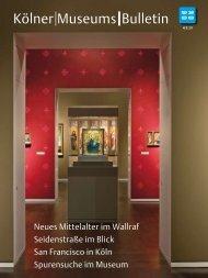 Kölner Museums Bulletin - Museen in Köln