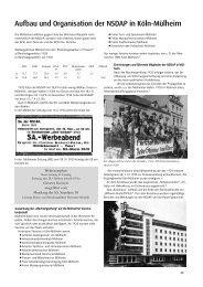 Aufbau und Organisation der NSDAP in Köln-Mülheim
