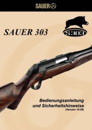 Bedienungsanleitung und Sicherheitshinweise ... - Sauer