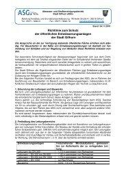 Stand 04.11.2010 Richtlinie zum - ASG Gifhorn, Abwasser- und ...