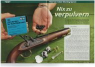 Indoor Muzzleloading - Frankonia