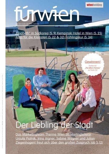 Der Liebling der Stadt - Wien Holding
