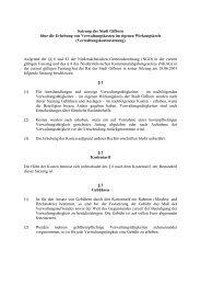 Verwaltungskostensatzung - Stadt Gifhorn