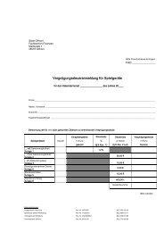 Vergnügungssteuer: Vorblatt zur Steuermeldung - Stadt Gifhorn