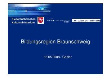Guido Stolle, Bildungsregion Braunschweig