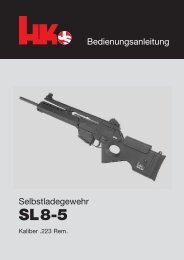 Selbstladegewehr SL8-5 - Waffen Braun
