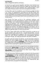 16.01.2011 Roland Kern, Bürgermeister - Stadt Rödermark