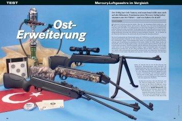 Mercury-Luftgewehre im Vergleich TEST - Frankonia