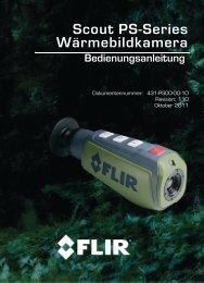 Scout PS-Series Wärmebildkamera Bedienungsanleitung - Frankonia