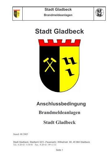 Stadt Gladbeck - Kreis Recklinghausen