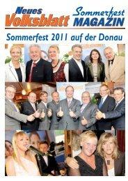Sommerfest 2011 auf der Donau - Neues Volksblatt