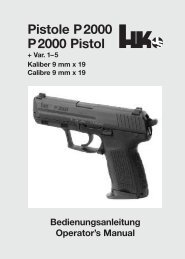 Pistole P2000 P2000 Pistol - Waffen Braun