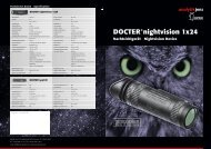 Prospekt DOCTER®nightvision 1x24