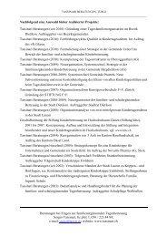 Nachfolgend eine Auswahl bisher - Tassinari Beratungen