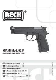 8.319 Reck Miami 9mmPAK Manual EU.indd - Umarex