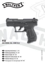 8.308.80.01 Walther P22 9mm PAK.indd - Frankonia
