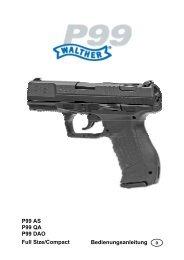 Walther P99 - Frankonia