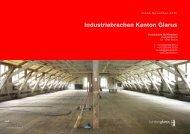 Industriebrachen Kanton Glarus - Fäh Architektur