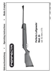 Perfecta Luftgewehr Mod. 55 cal. 4,5 mm (.177) - Umarex