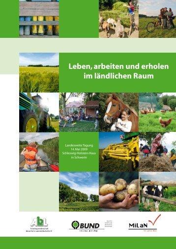 Leben, arbeiten und erholen im ländlichen Raum - BUND ...