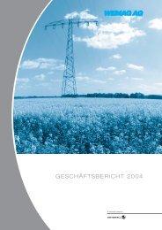 GESCHÄFTSBERICHT 2004 - WEMAG AG - Homepage