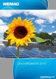 geschäftsbericht 2010 - Wemag AG