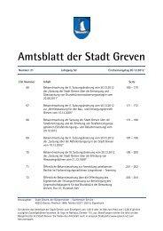 Amtsblatt 21/2012 - Stadt Greven