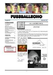 Fußballecho - Fußballverband Rheinland