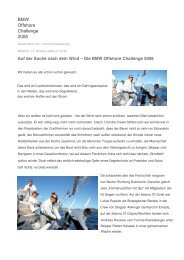 BMW Offshore Challenge 2008 - WORKLiNE