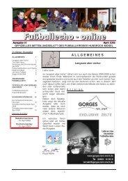 FE - online 4-2009 - Fußballverband Rheinland