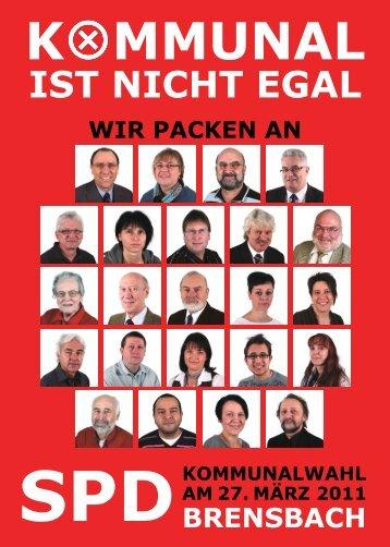 SPD Wahlprogramm 2011 - SPD Brensbach