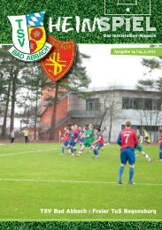 Inselmagazin 14/2012 - TSV Bad Abbach