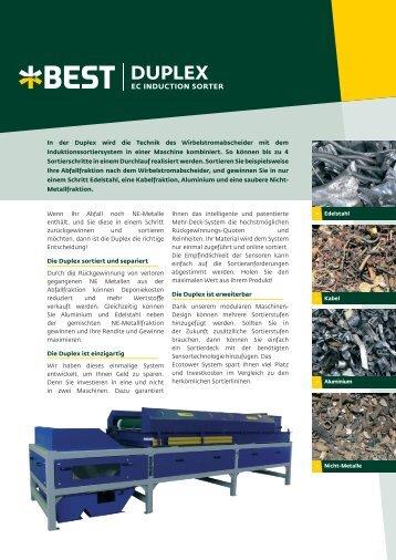 Duplex - Franz Kahl GmbH