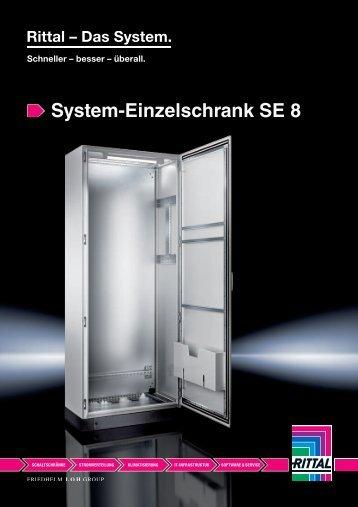 System-Einzelschrank SE 8 - Rittal