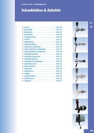 Westiland Katalog Schankhähne