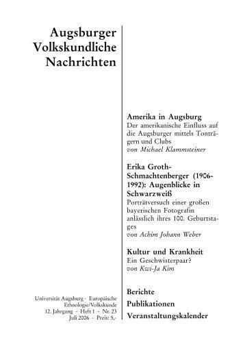 AVN_2006_H1_NR23.pdf - OPUS Augsburg - Universität Augsburg