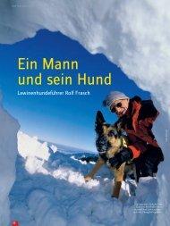 Ein Mann und sein Hund - Deutscher Alpenverein