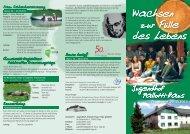Programm 2012/2013 - im Jugendhof in Olpe
