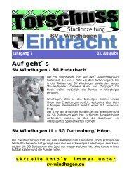 SG Puderbach - SV Windhagen