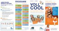 START IN DIE prOgrAmm - Vitalhotel Bad Radkersburg