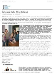STIMME.de Da kommt Kalle (Neue Folgen:)