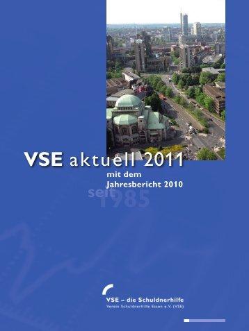 VSE aktuell 2011 - Verein Schuldnerhilfe Essen