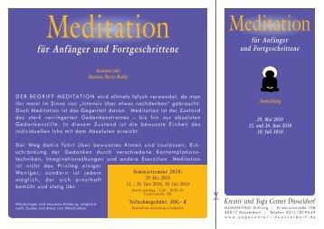 für Anfänger und Fortgeschrittene - Yogacenter Duesseldorf